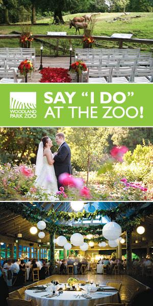 Weddings at Woodland Park Zoo