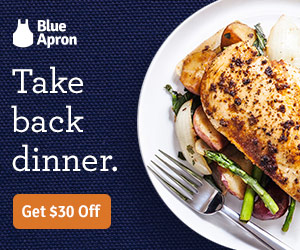Blue Apron Chicken Dinner