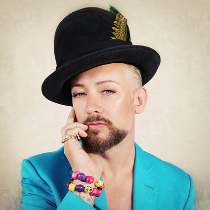 Boy George Talks Culture Club, Music, And Hats, Of Course