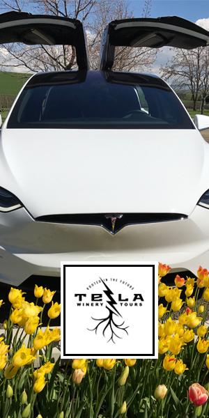 Tesla Walla Walla Wine Tours