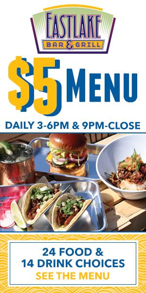 Eastlake Bar & Grill $5 Menu