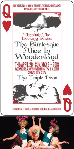 Burlesque Alice in Wonderland